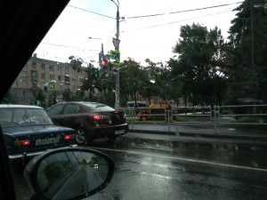 Пример фото на Huawei Ascend G6. Улица, пасмурно