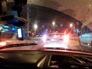 Пример фото на Huawei Ascend G6. Улица, вечер
