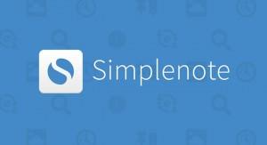 Обзор программы для ведения заметок Simplenote