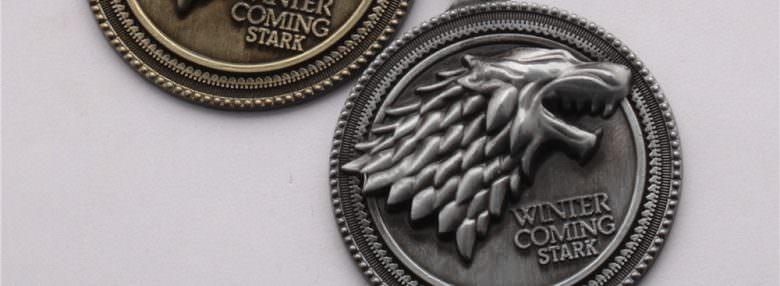 Обзор брелока «Game of Thrones» с гербом дома Старков