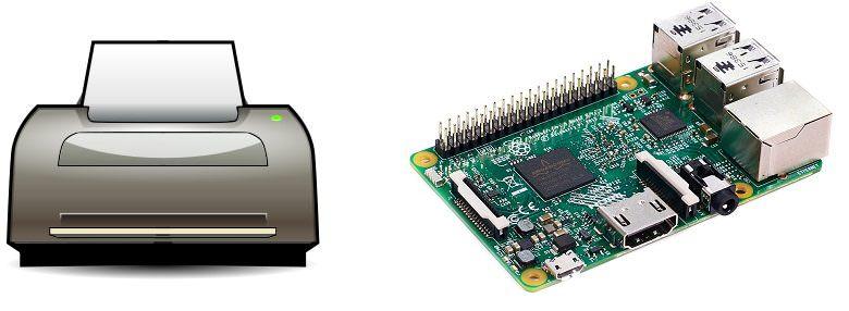 Raspberry Pi 3. Установка и настройка принт-сервера CUPS