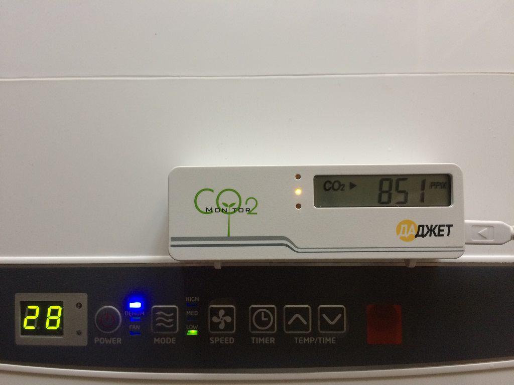 Обзор детектора углекислого газа MT8057S