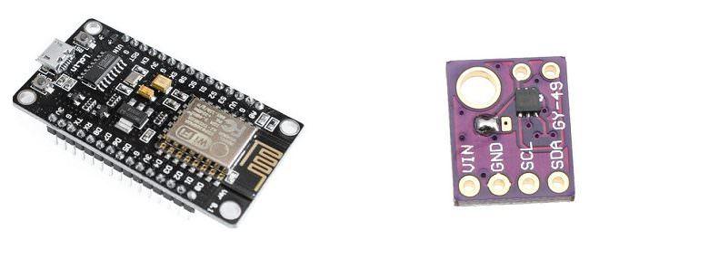 Простейший люксметр на ESP8266 и датчике освещенности MAX44009