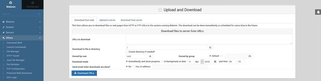 Установка Webmin на Raspberry Pi 3