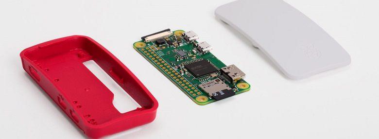 Обзор одноплатного компьютера Raspberry Pi Zero W