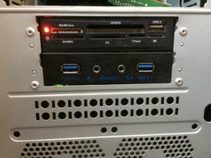 """3.5"""" панель с USB 3.0 и аудио"""