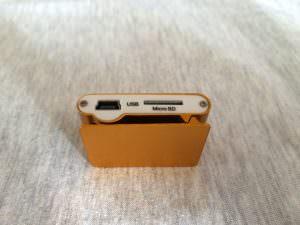 Обзор MP3-плеера Perfeo VI-M001 Music Clip Titanium