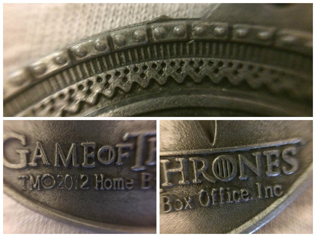 "Обзор брелока ""Game of Thrones"" с гербом дома Старков"