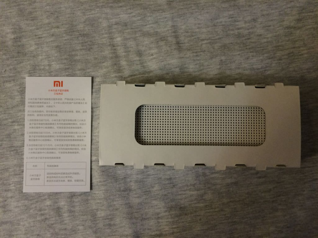 Обзор Bluetooth-колонки Xiaomi Square Box Bluetooth Speaker