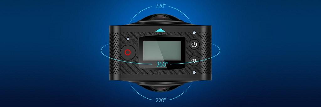 MGCOOL Cam 360 - панорамная экшн-камера по доступной цене