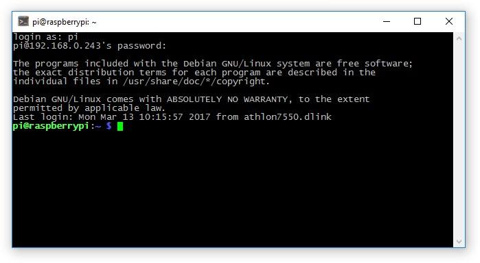 Удаленный доступ к Raspberry Pi 3 через SSH и VNC