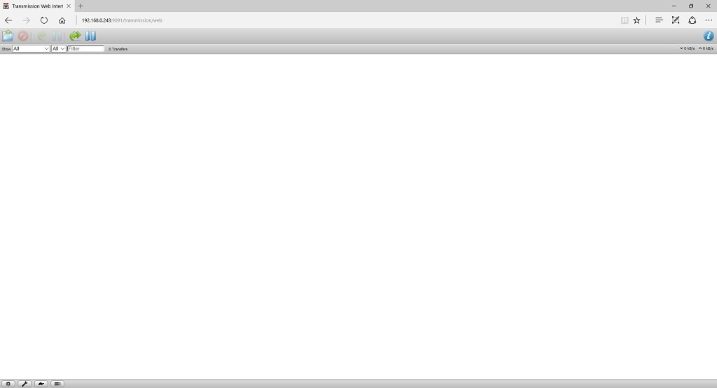 Установка и настройка торрент-клиента на Raspberry Pi 3