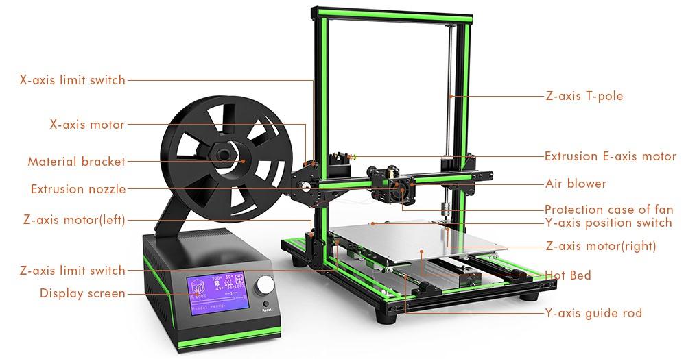 Новый бюджетный принтер Anet E10 временно доступен со скидкой