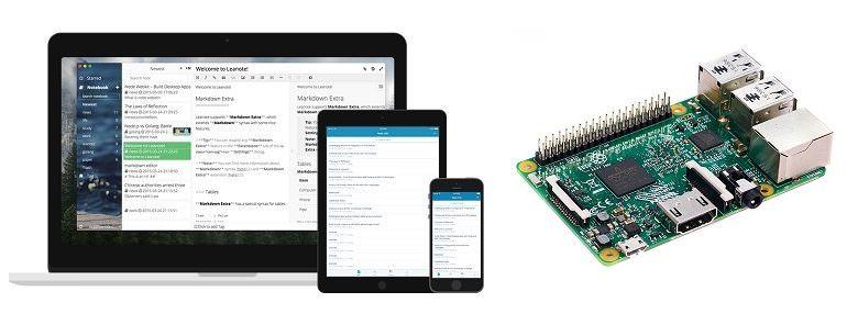 Raspberry Pi 3. Установка и настройка сервера Leanote