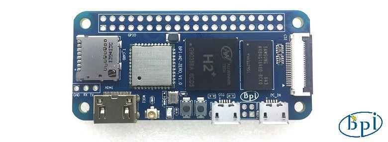 Обзор одноплатного компьютера Banana Pi M2 Zero
