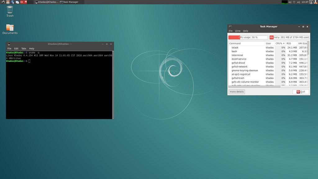 Обзор одноплатного компьютера Khadas Edge
