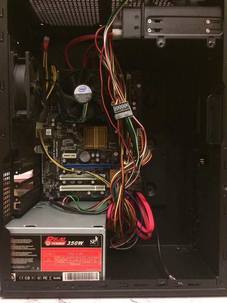 Домашний сервер. Часть 4: Пробная сборка