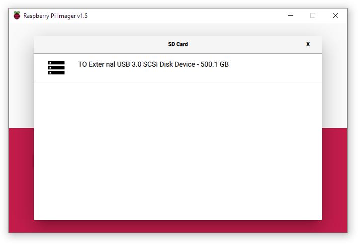 Настройка загрузки Raspberry Pi с USB HDD и SSD накопителей